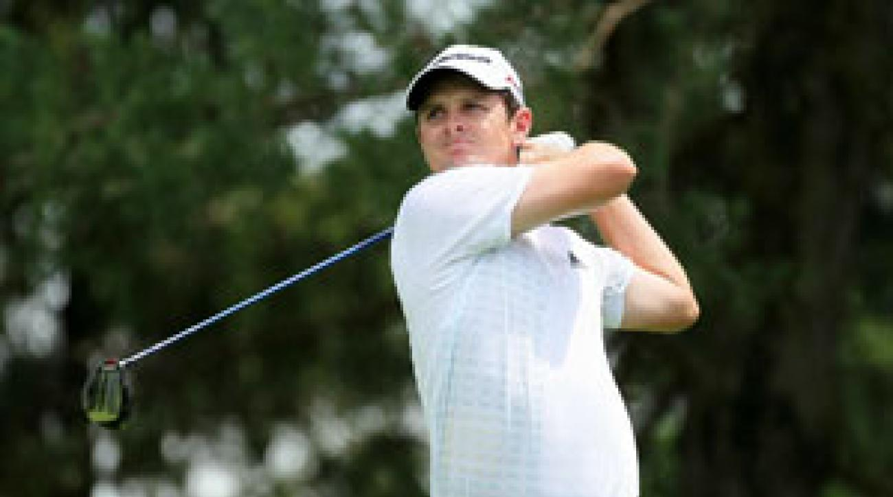 Justin Rose made eight birdies and one bogey on Thursday.
