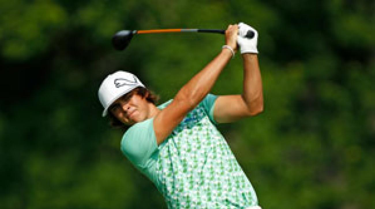 Rickie Fowler has made only one bogey this week.
