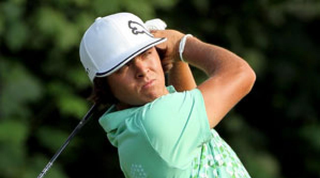 Rickie Fowler already has five top 10s in his rookie season.