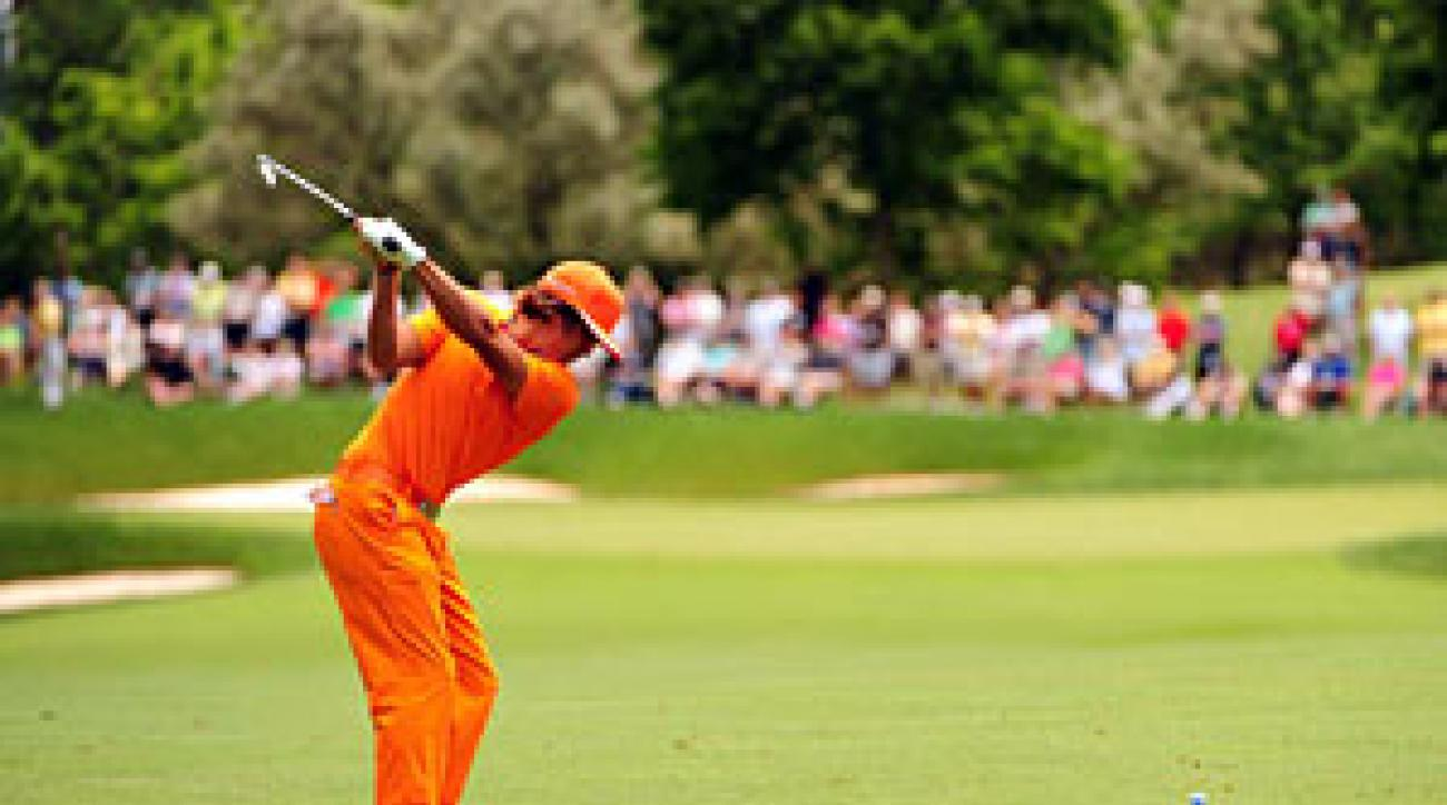 Rickie Fowler is currently 13th in the Ryder Cup standings.