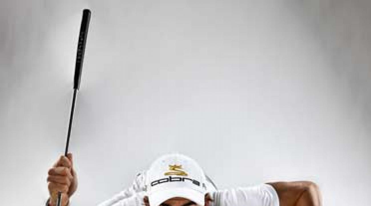 Have you ever hurt yourself trying to imitate Camilo Villegas? Then you might be a slow player.