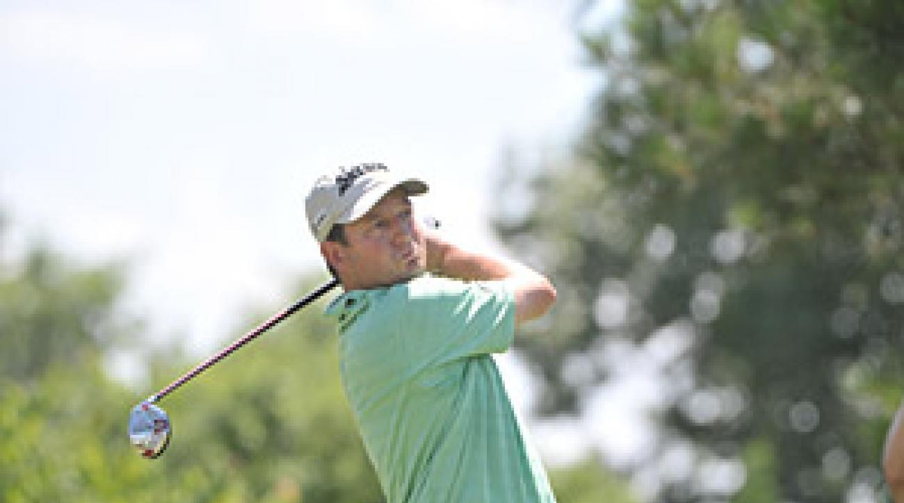Clark heated up at just the right time Saturday to break a logjam at the Stanford St. Jude Championship.