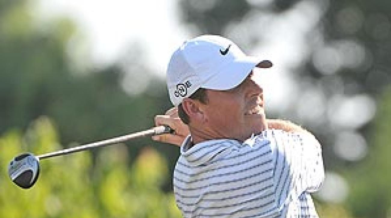 This was Leonard's first win since the 2007 Valero Texas Open.