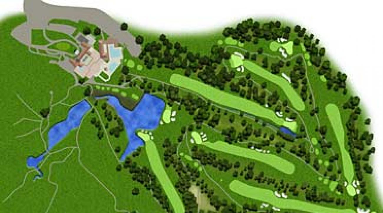 New  Gives Congressional Country Club For  US Open - Map us open