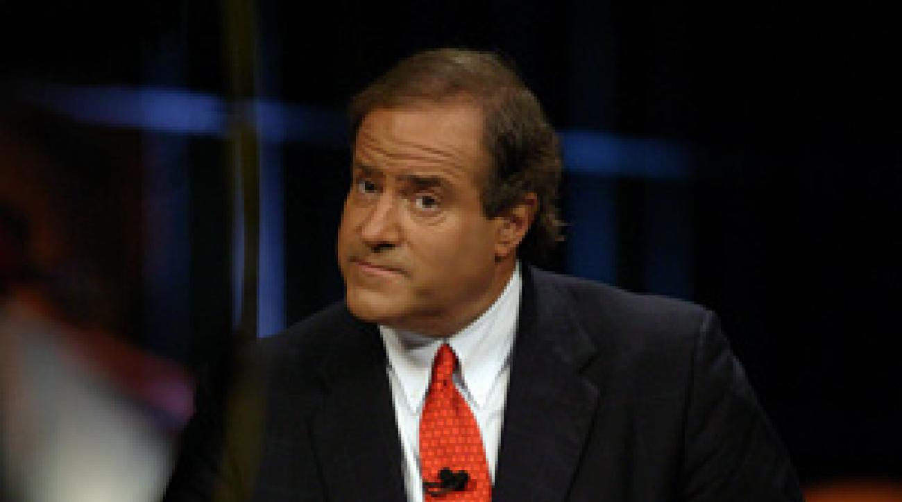 Berman leaves his hyperbole hat at the door when he's covering golf.