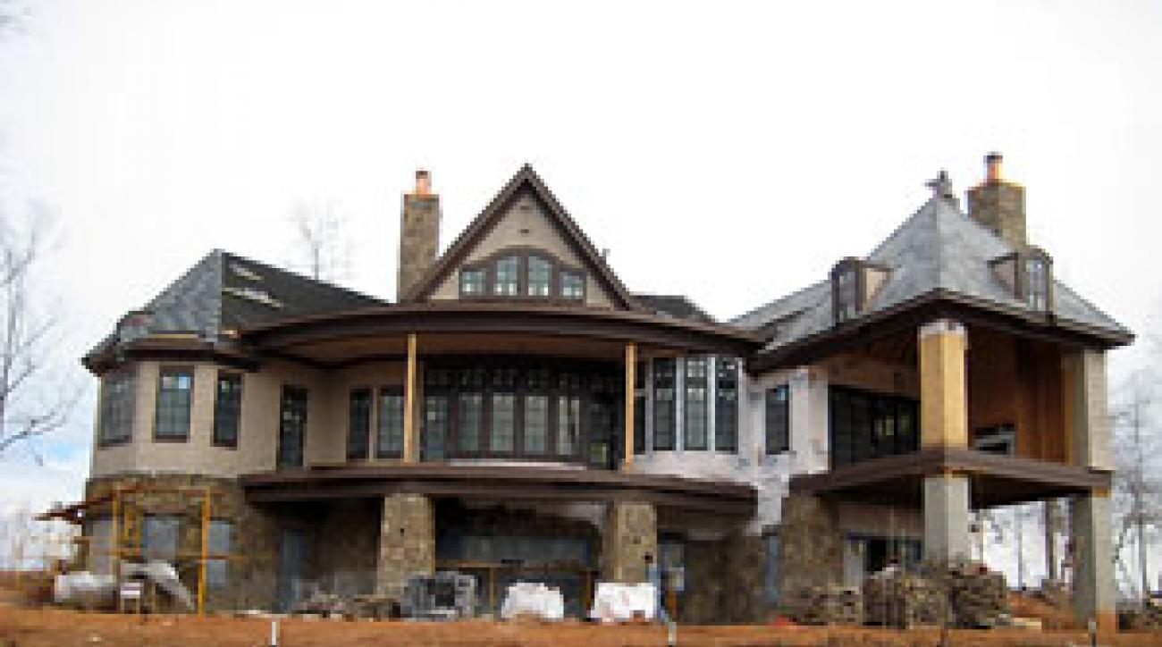 The 2008 Golf Magazine Dream House is shaping up.