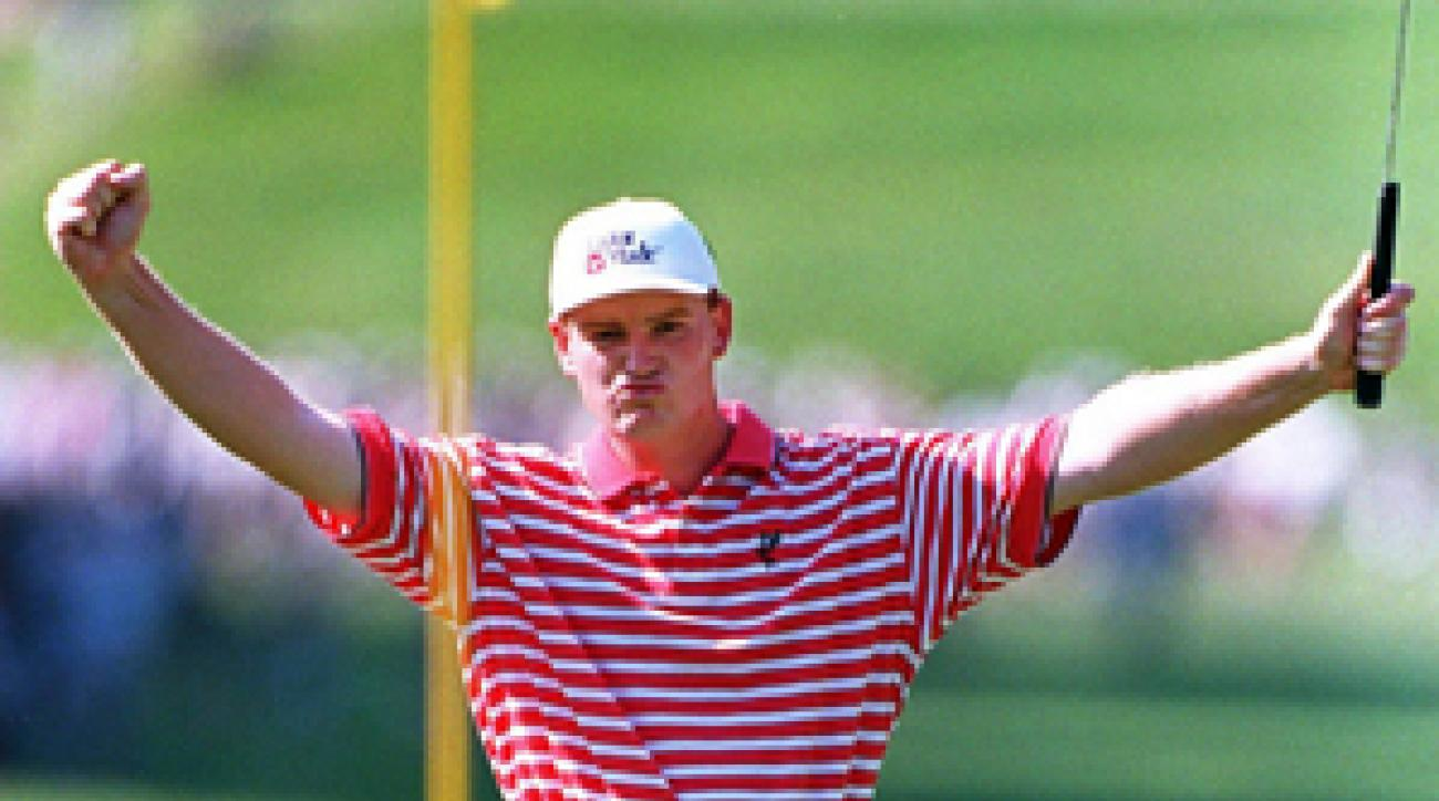Els en route to his second U.S. Open win, in 1997. He has won just one major since, the 2002 British Open.