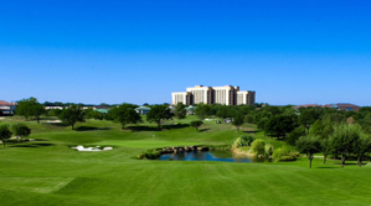 The recently renovated TPC course at Las Colinas.