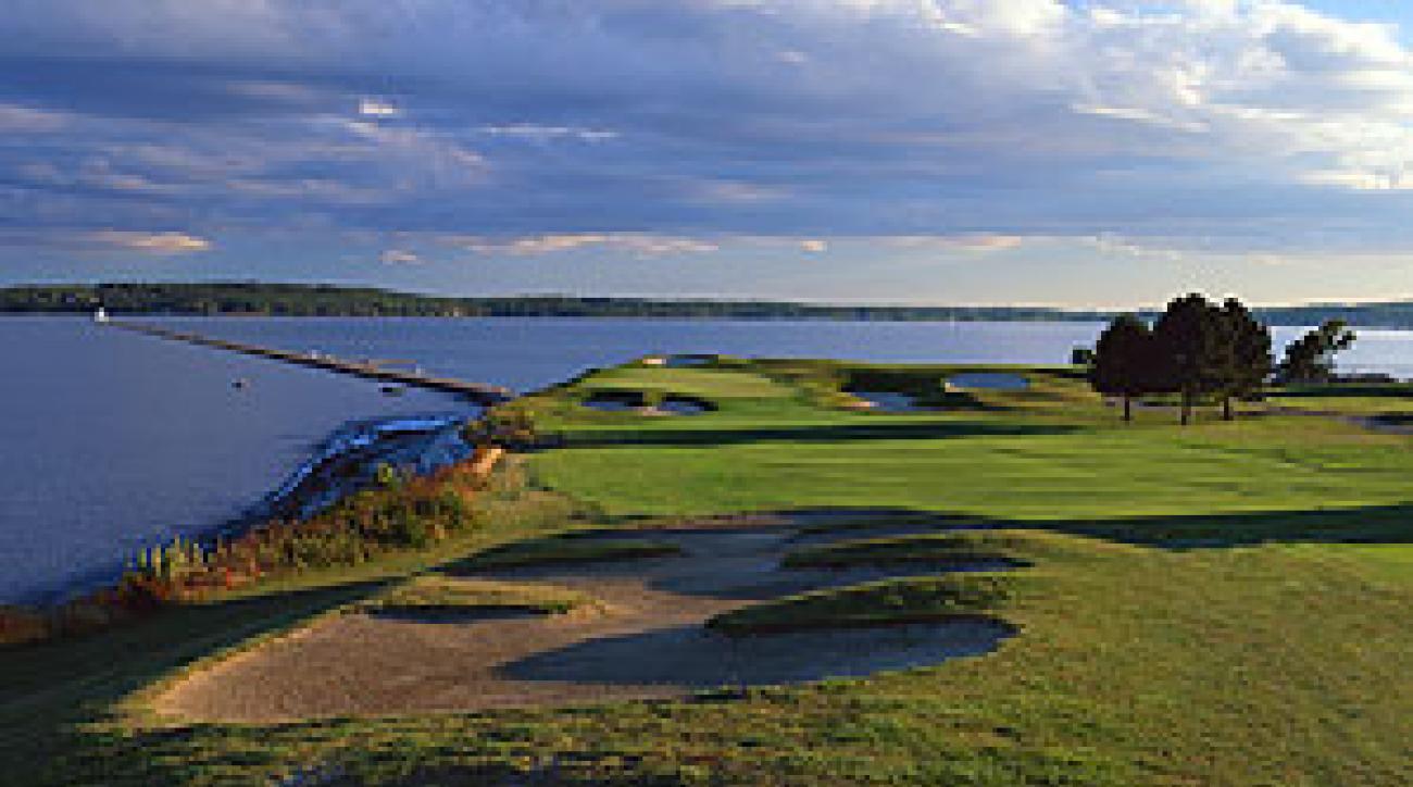 Seaside splendor at the Samoset Resort in Maine.