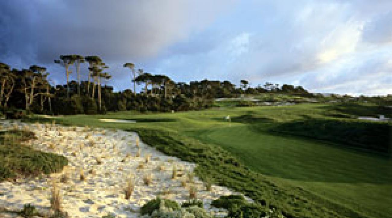 The famed 4th hole at Spyglass Hill.