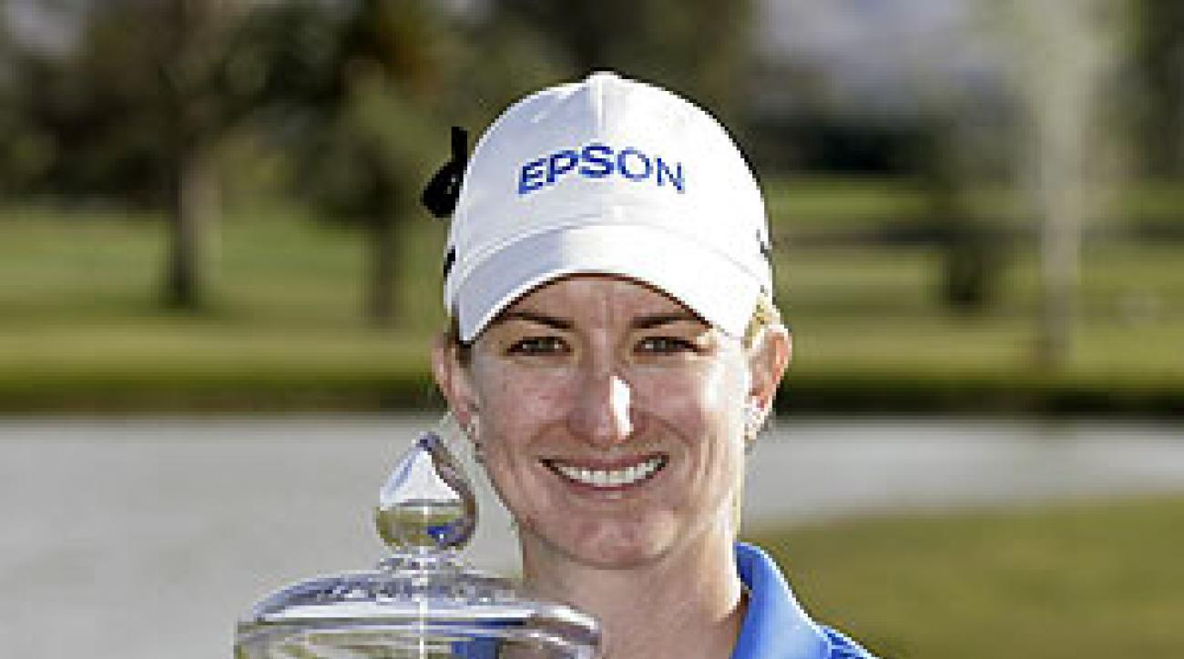 Karrie Webb shot a 5-under 67 in the final round.