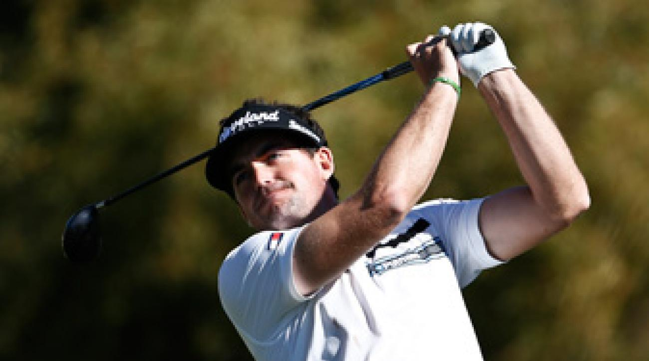 Keegan Bradley made an eagle, seven birdies and a bogey on Friday.