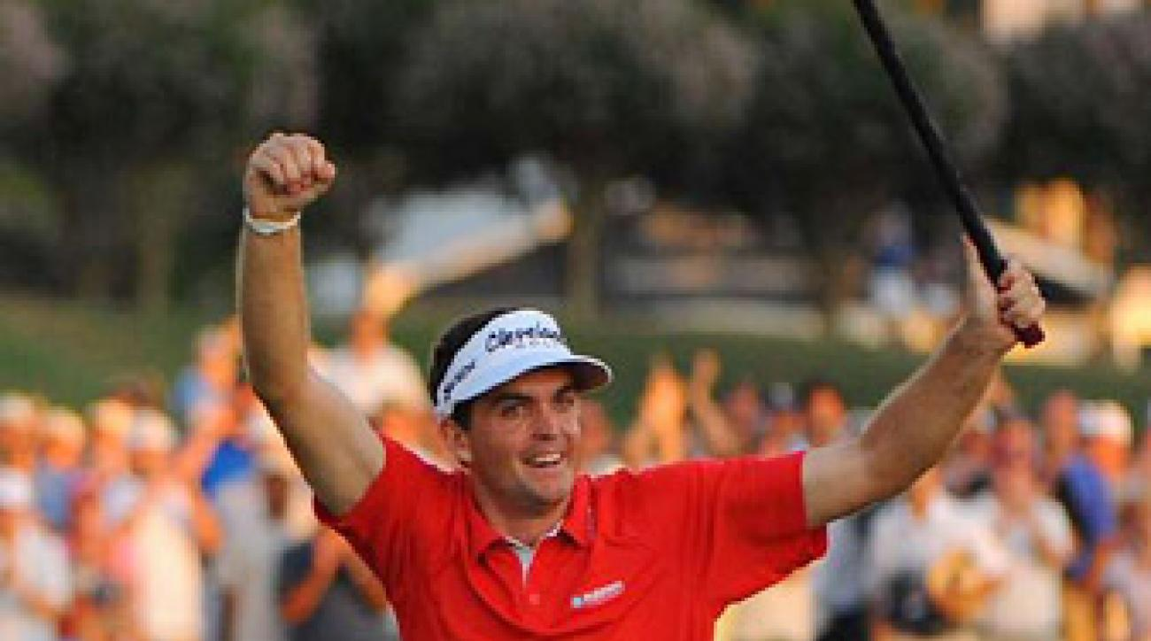 Keegan Bradley won the 2011 PGA Championship in what was his first-career appearance in a major.