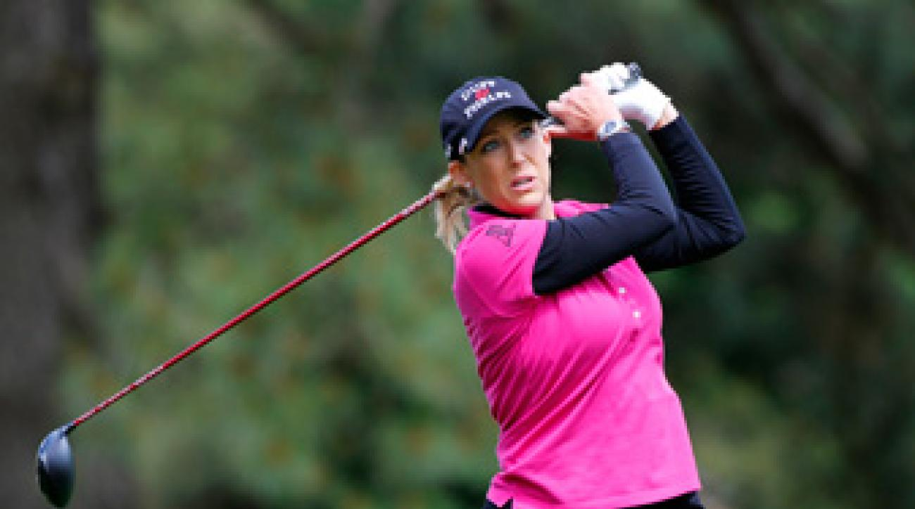 Cristie Kerr made six birdies and a bogey on Saturday.