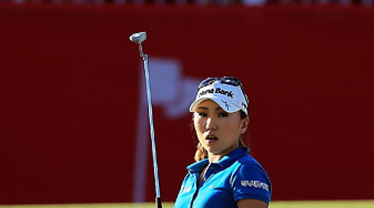 I.K. Kim missed a one-foot putt on 18 that would have won the tournament.