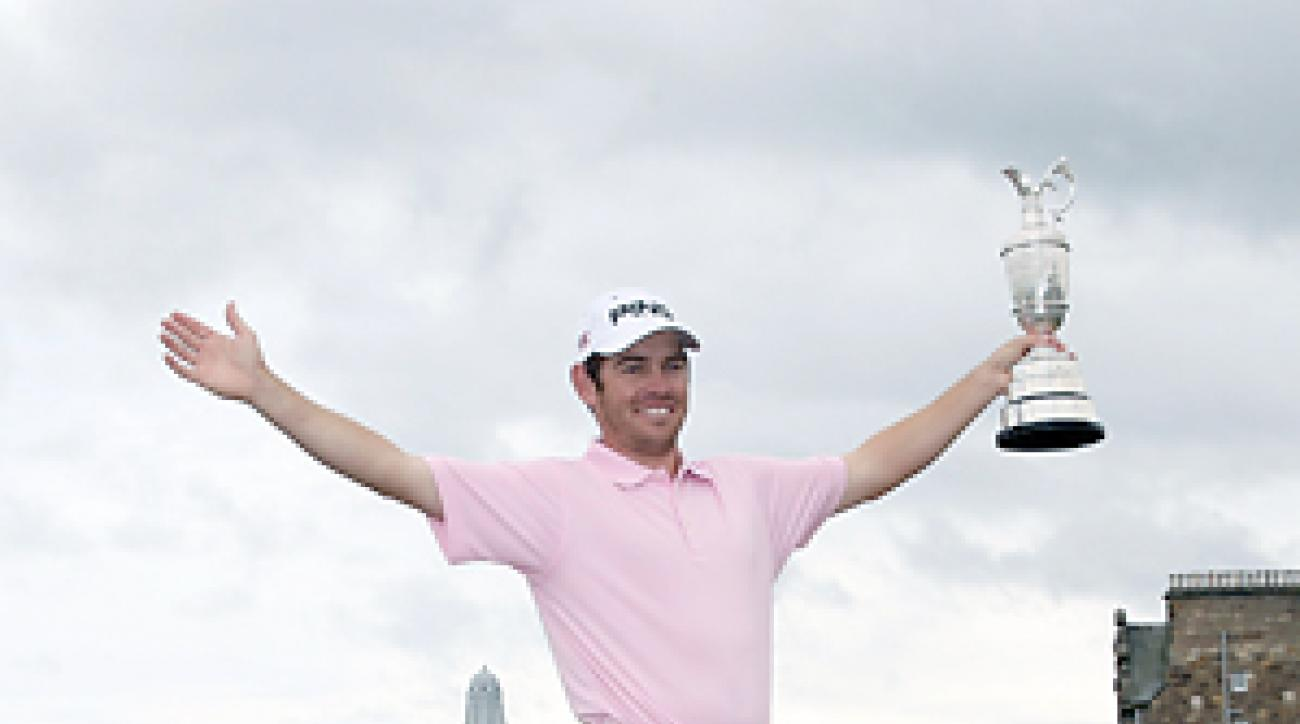 Louis Oosthuizen won the 2010 British Open, the most recent at St. Andrews.