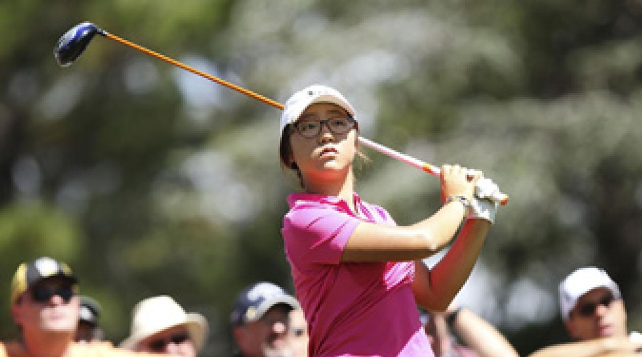 Lydia Ko, 15, is trying to win for the second week in a row.