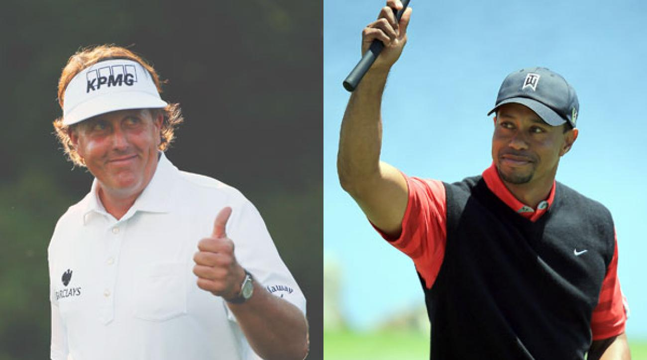 Golf Magazine Top 100 Teacher Peter Kostis thinks this year's Major venues set up favorably for Phil Mickelson and Tiger Woods.
