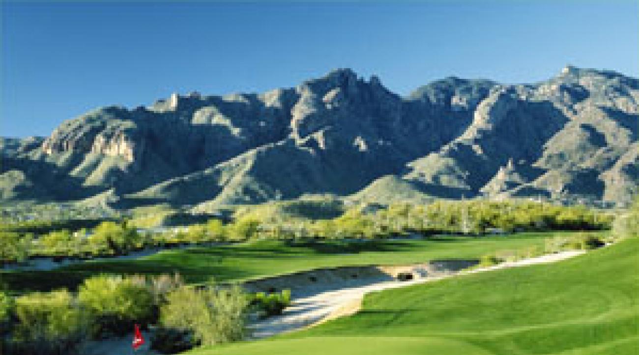 La Paloma's Hill course, 6th hole