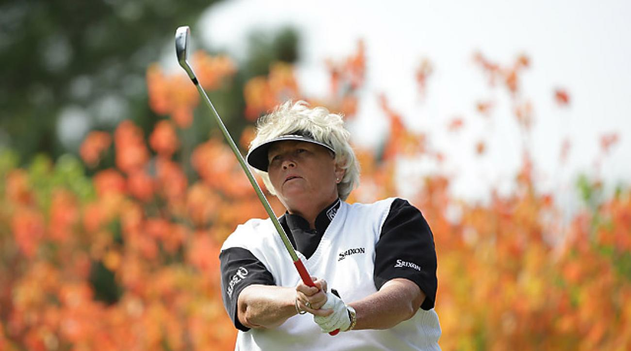 Laura Davies shot a five-under 67 on Saturday.