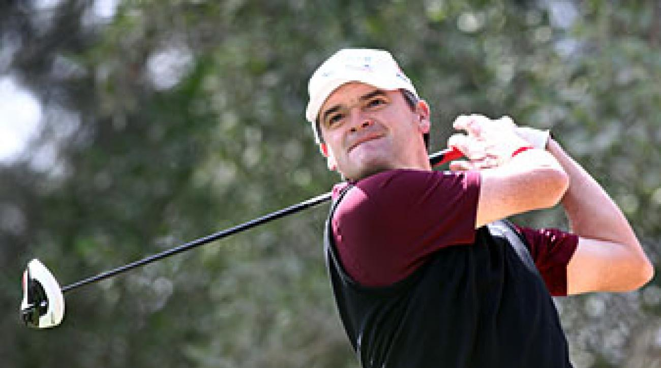 Paul Lawrie made six birdies and one bogey.