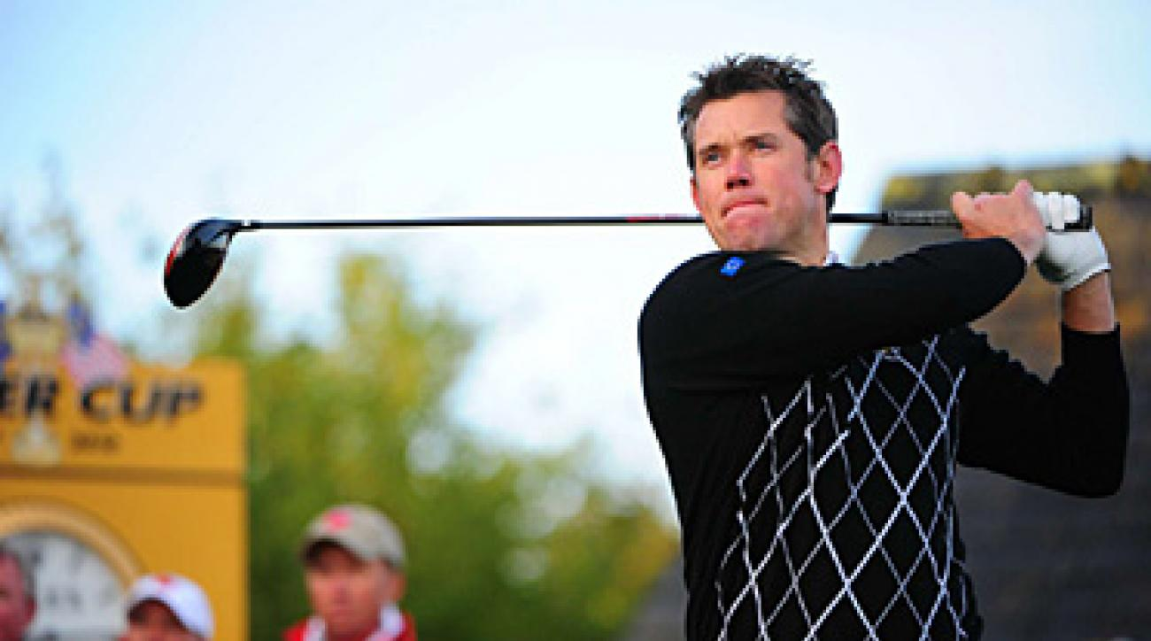 England's Lee Westwood has looked like the best player in the world this week, winning a point and a half in his first two matches.