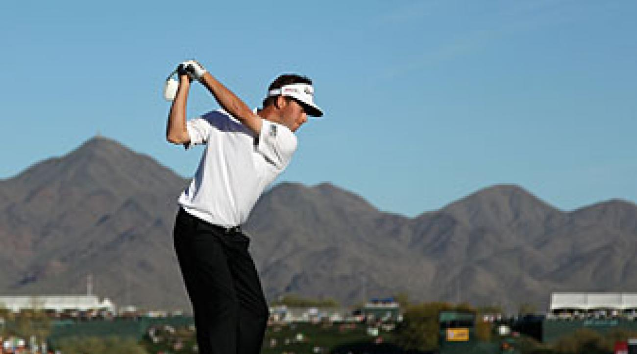 Spencer Levin made four birdies and one bogey on Saturday.