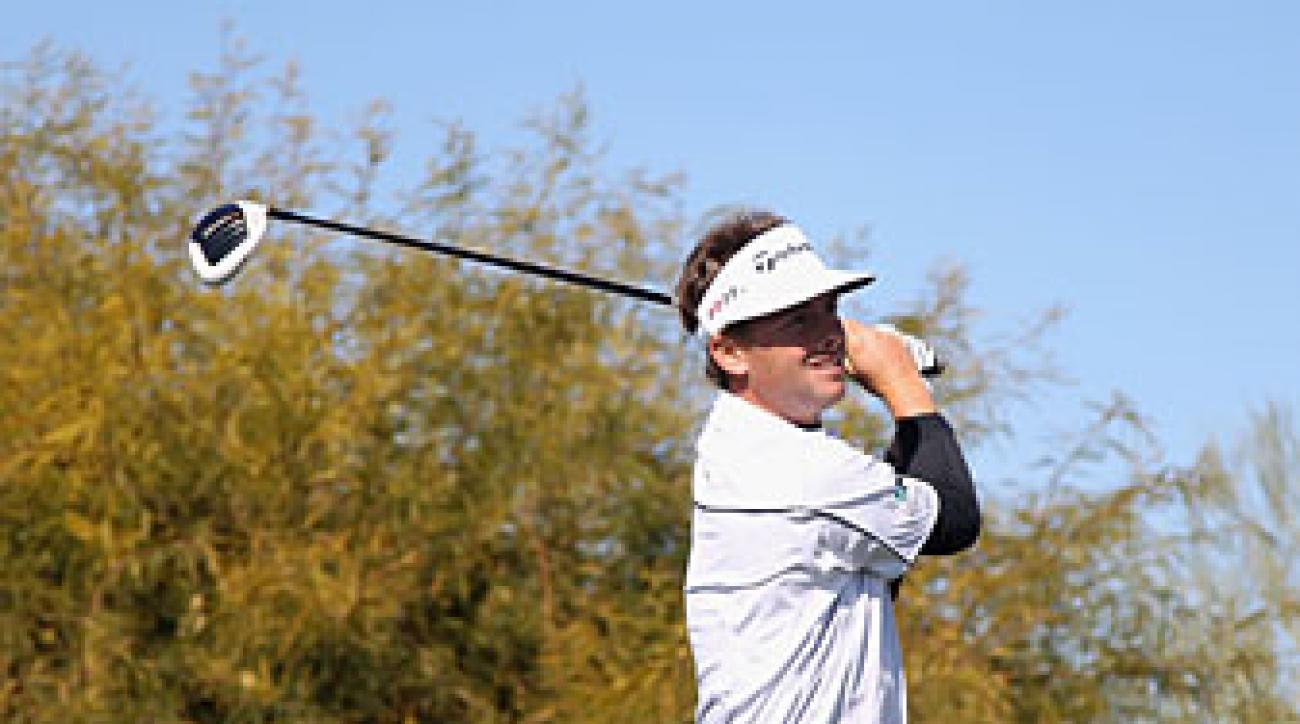 Spencer Levin made six birdies and an eagle.