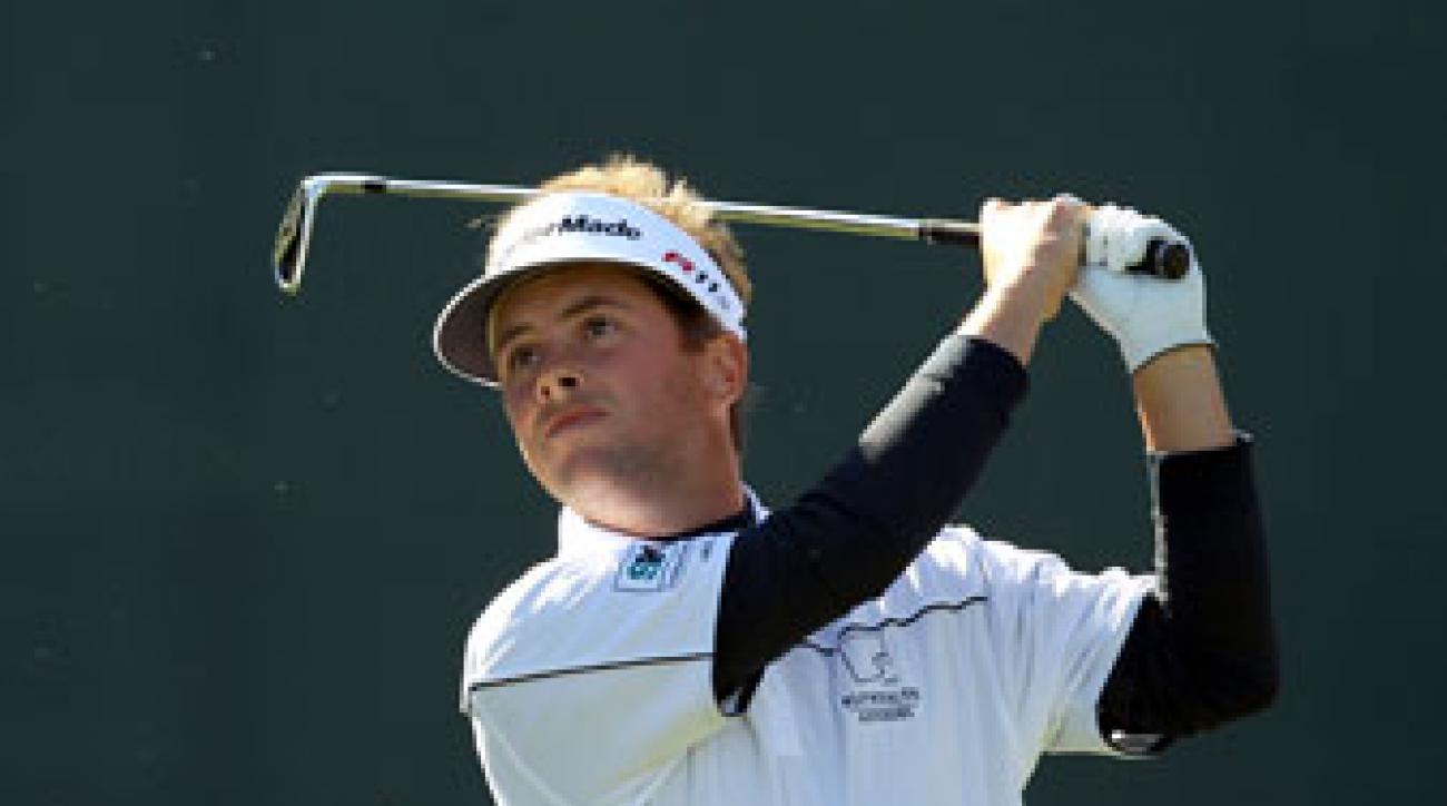 Spencer Levin fired an eight-under 63 on Friday.