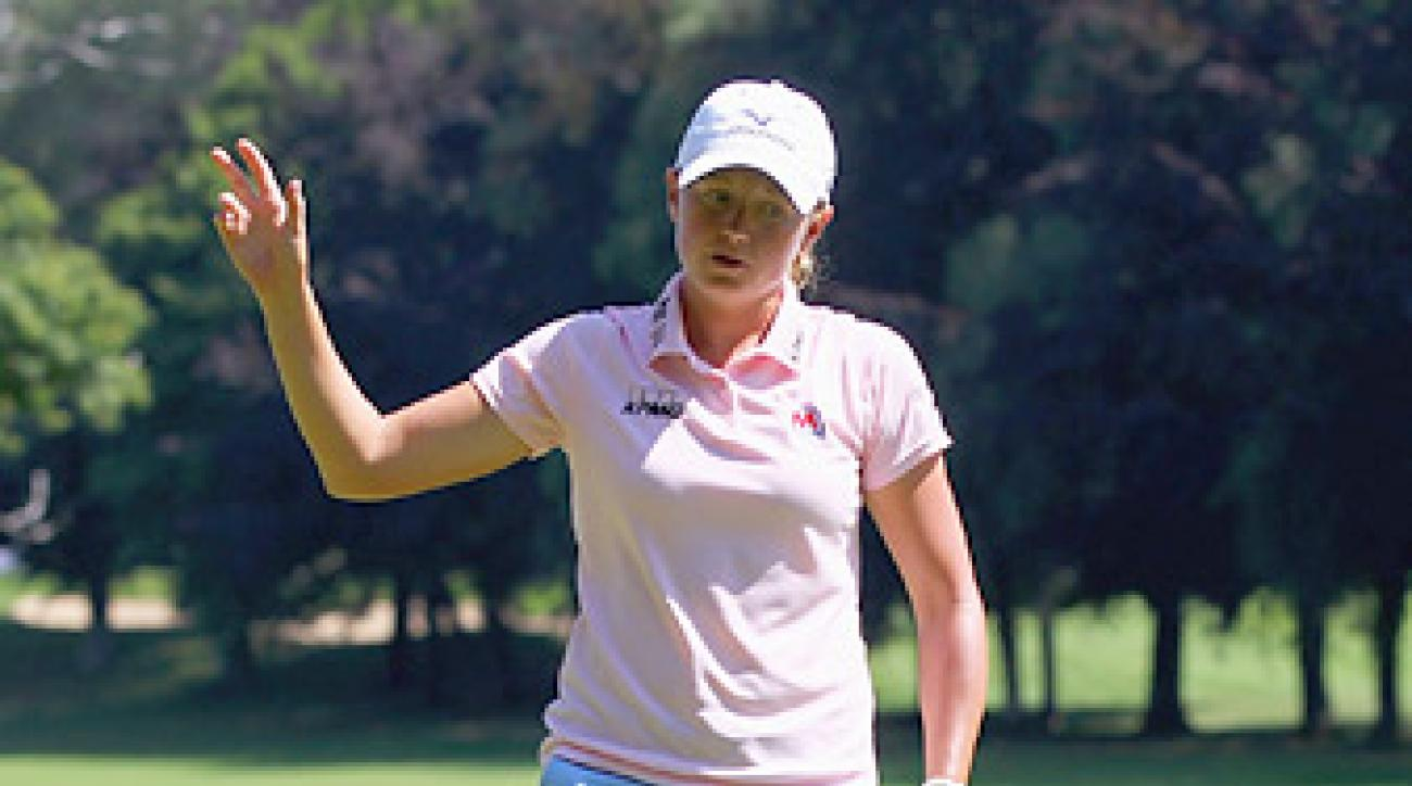 Stacy Lewis is ranked No. 3 in the world, the highest of any American.