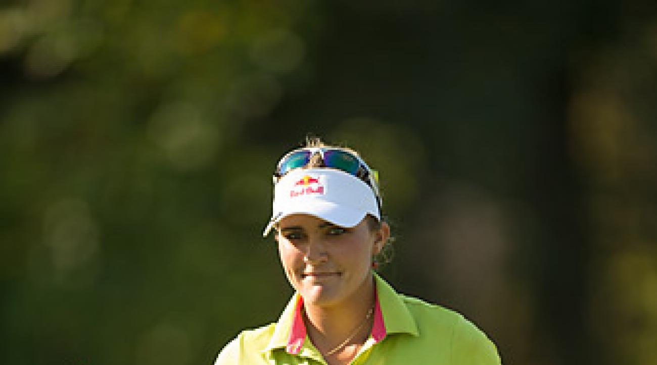 Lexi Thompson career-best 63 gave her the lead at the Navistar LPGA Classic.