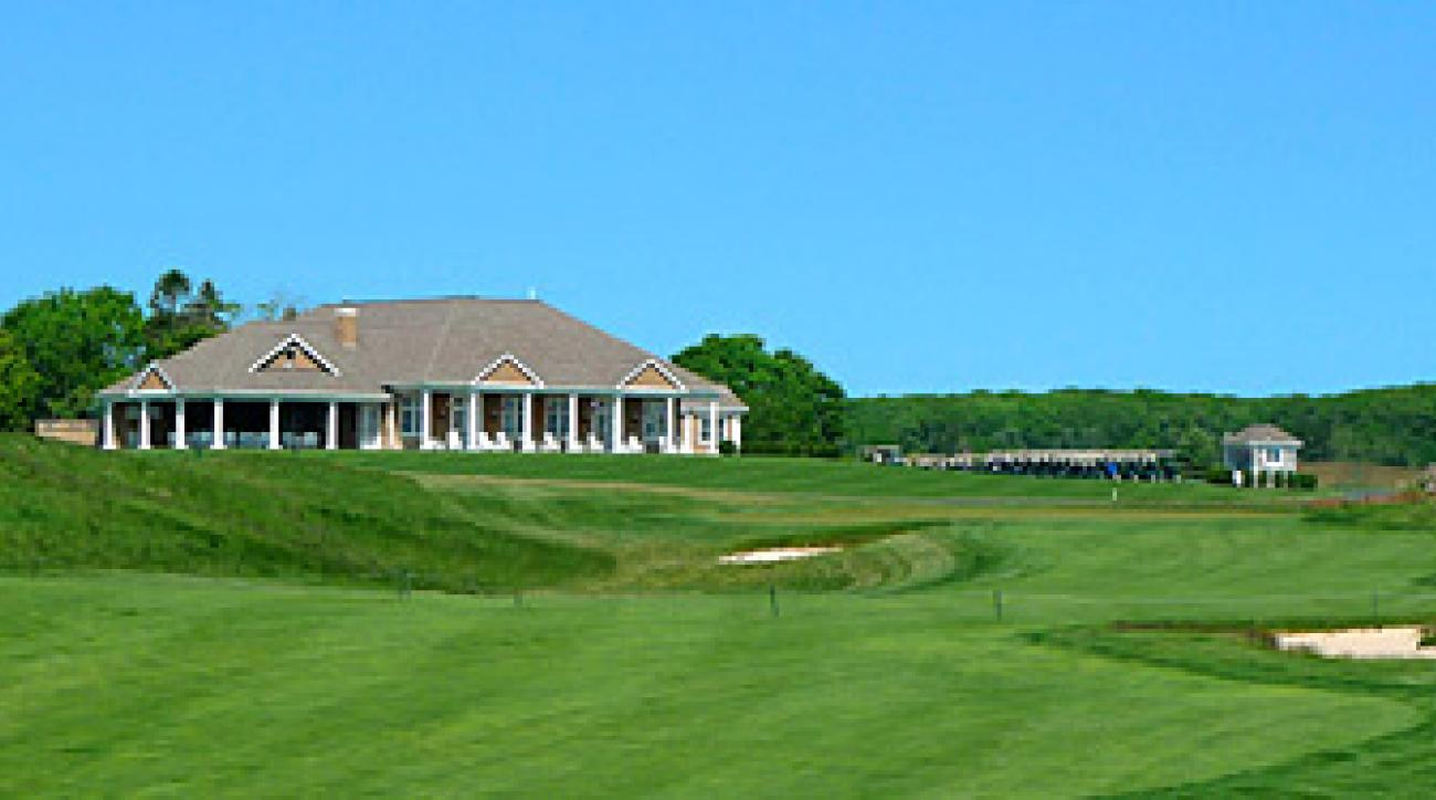 The 18th at Long Island National.