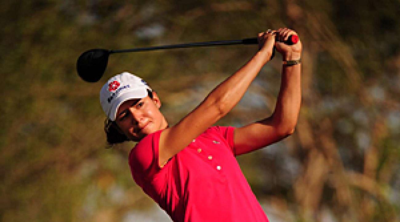 Lorena Ochoa at an LPGA event in Phoenix in 2009.