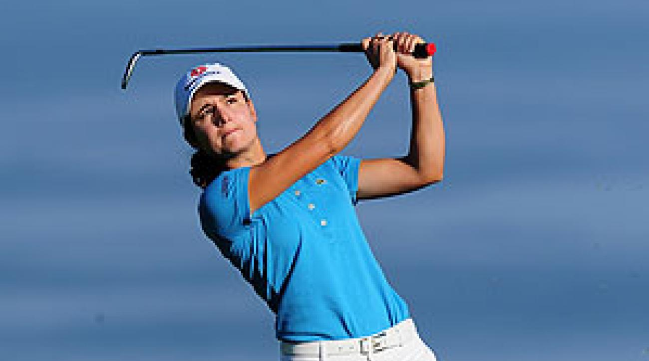 Lorena Ochoa finished T40 at least week's Evian Masters.