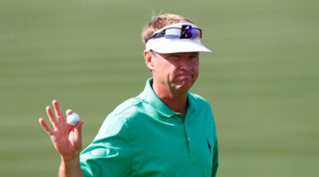 Davis Love III served as the 2012 Ryder Cup captain.