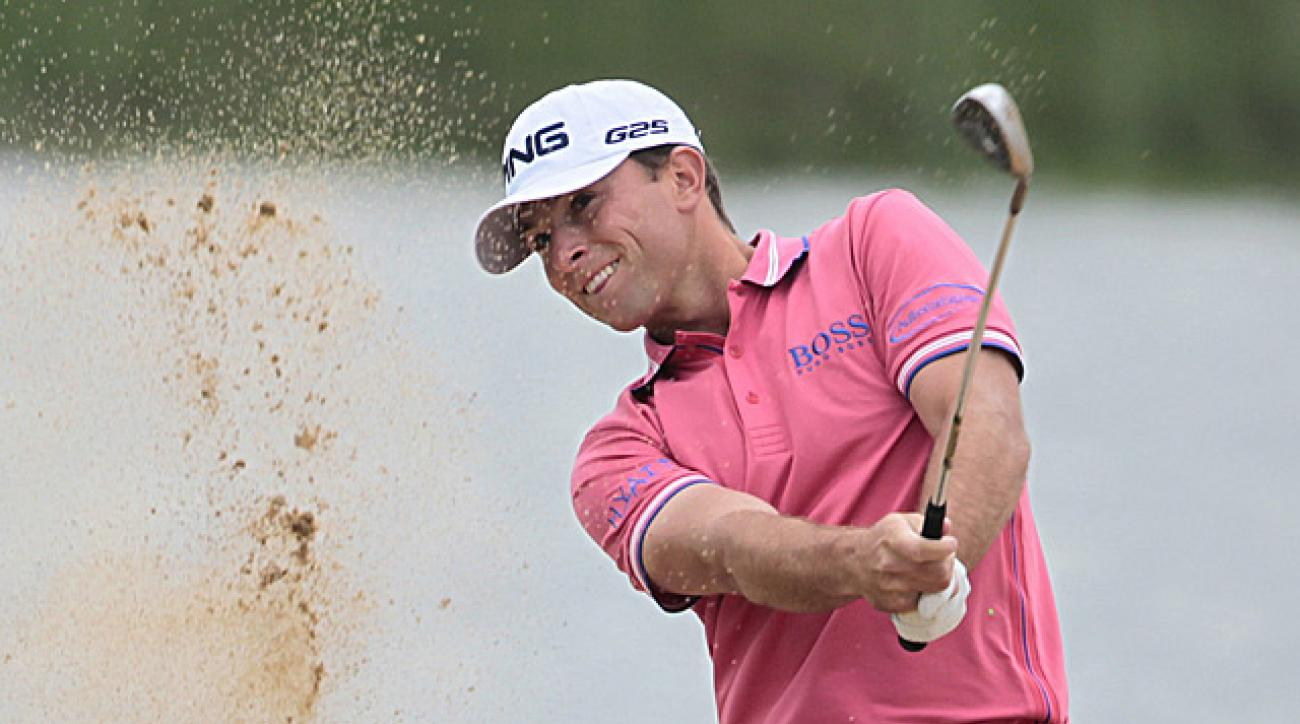 Guthrie, 23, fought through tough conditions to shoot 71.
