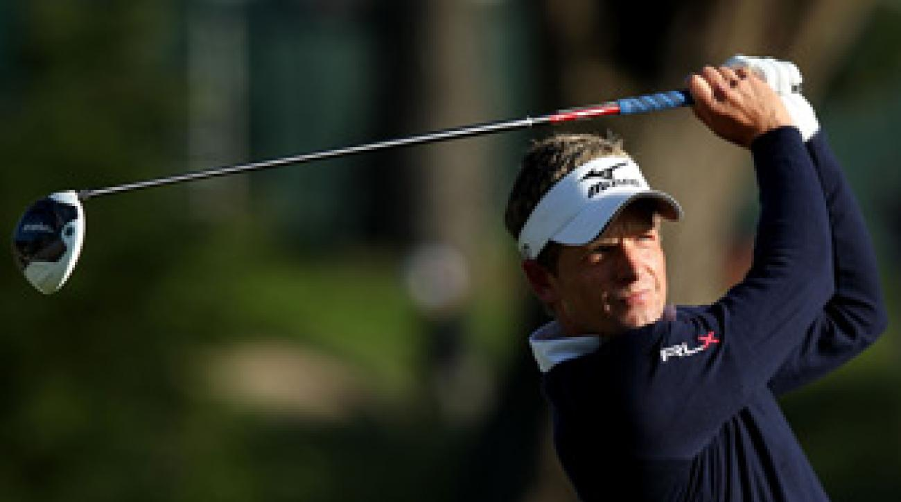 Luke Donald has yet to win a major.