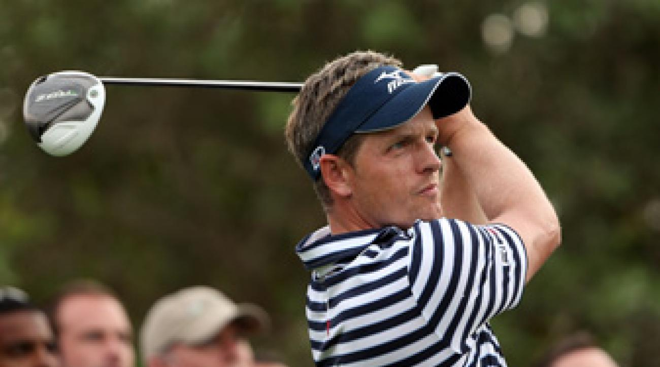 Luke Donald is playing his first PGA Tour event of the season.