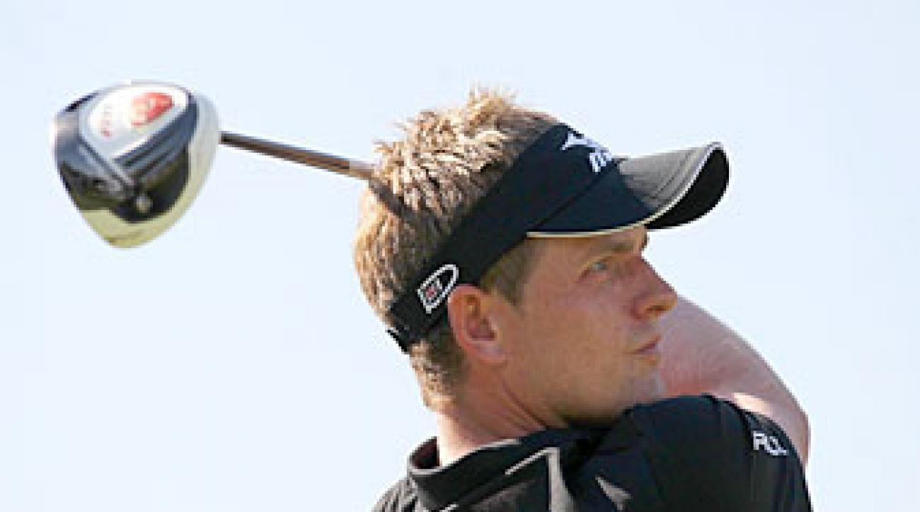 Luke Donald made six birdies and no bogeys.