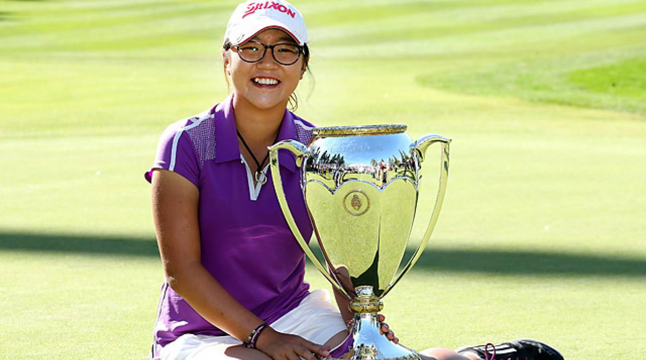 Ko, 16, successfully defended her title this year at the Canadian Women's Open.