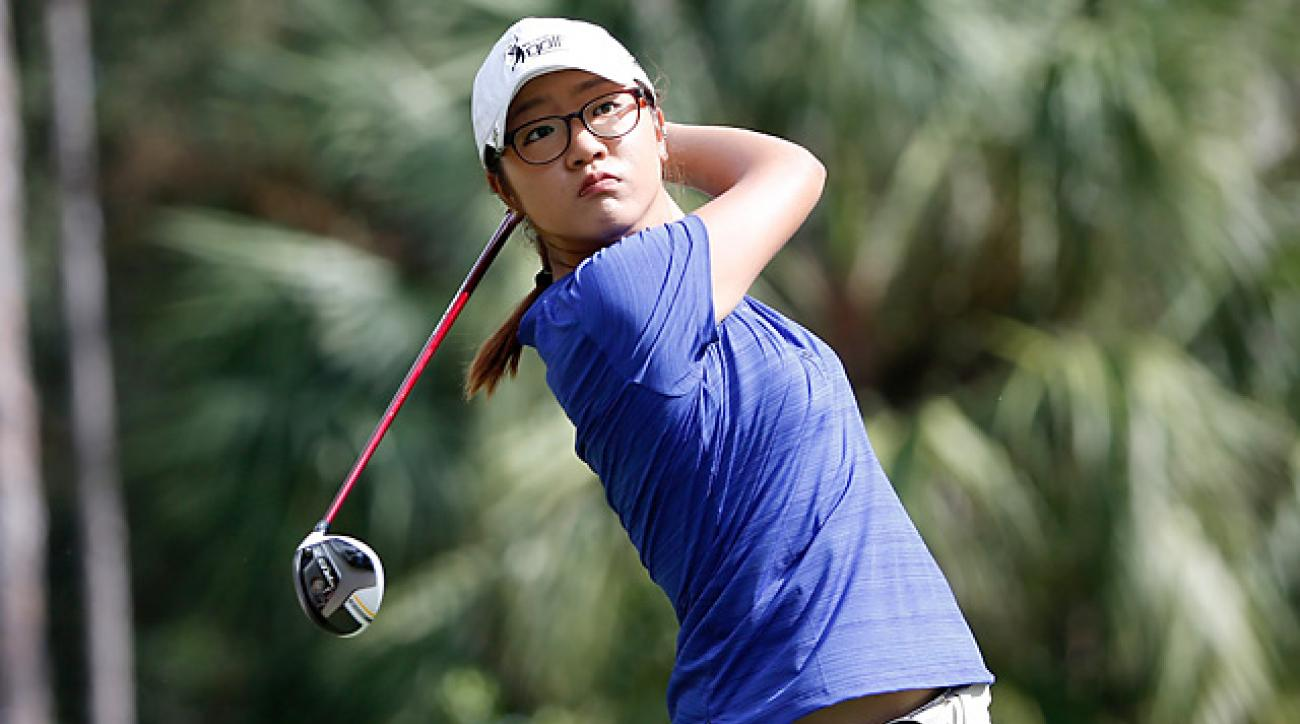 Though she already has two LPGA wins, Lydia Ko is making her debut as a pro this week.