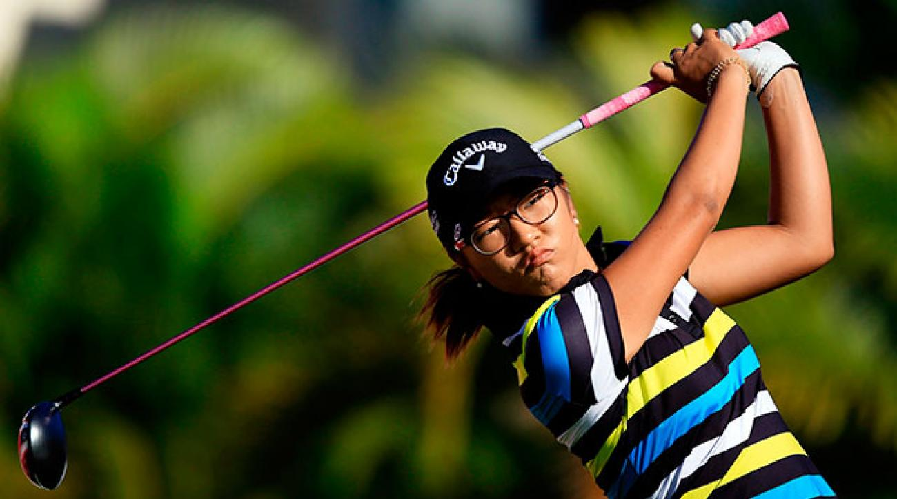 Ko isn't long, but she wears opponents down with center-cut drives and on-target approach shots.