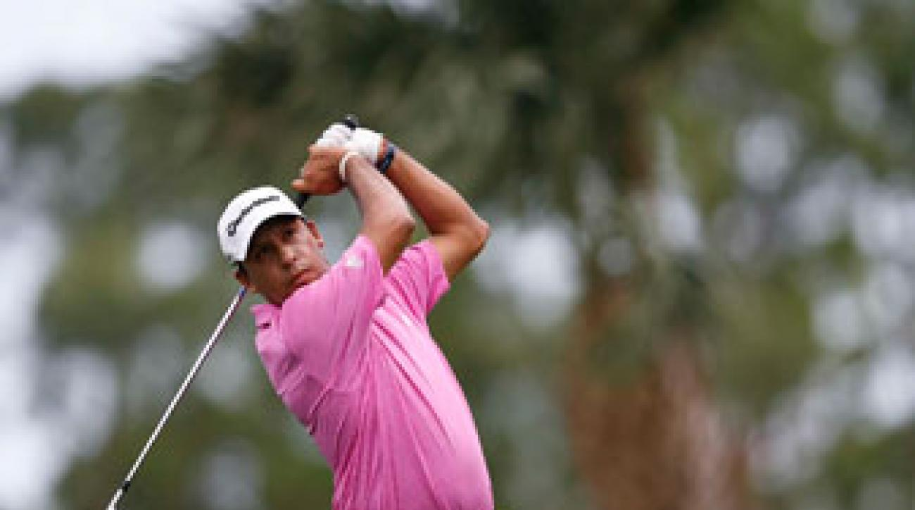 Miguel Angel Carballo shot a nine-over 79.