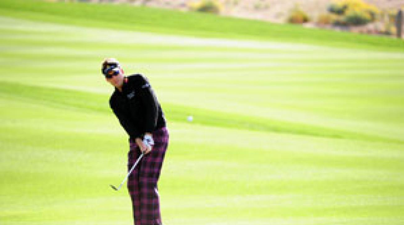 Ian Poulter is one of six Europeans in the top 10 of the world golf rankings.