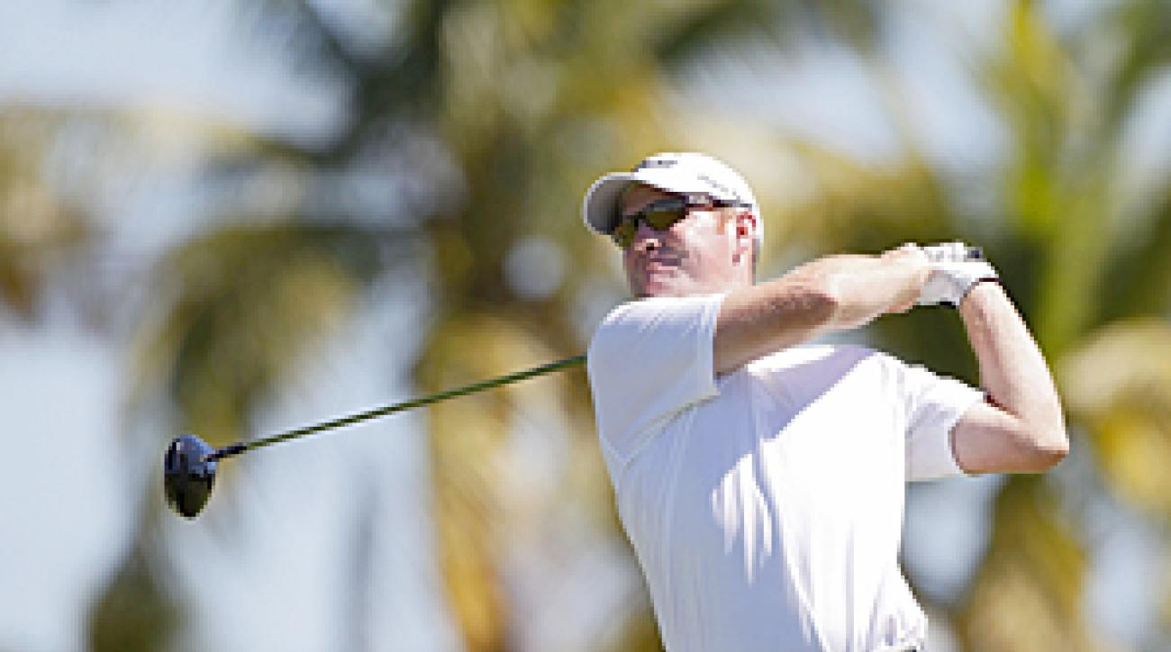 Troy Matteson made seven birdies and one bogey on Saturday.