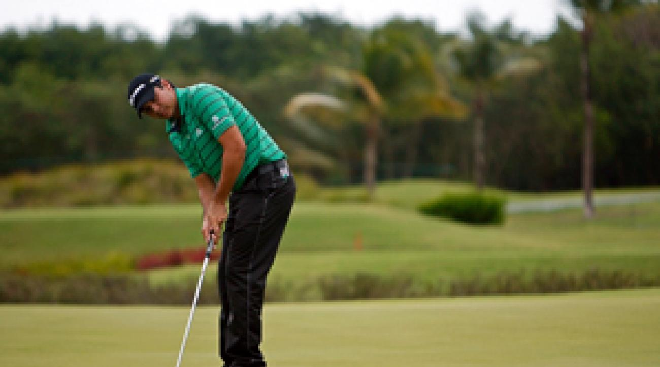 Jason Day made an eagle, five birdies and three bogeys on Friday.