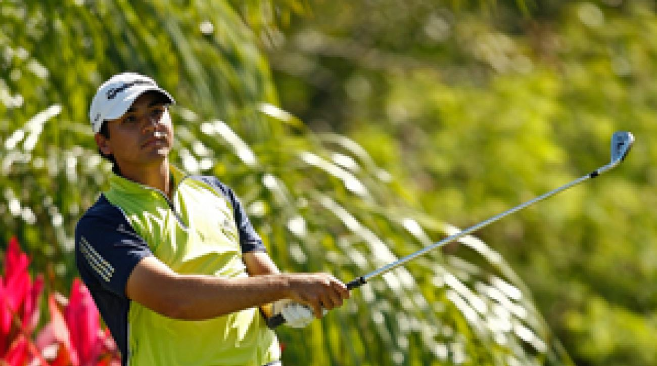 Jason Day made three birdies and a bogey on Saturday.