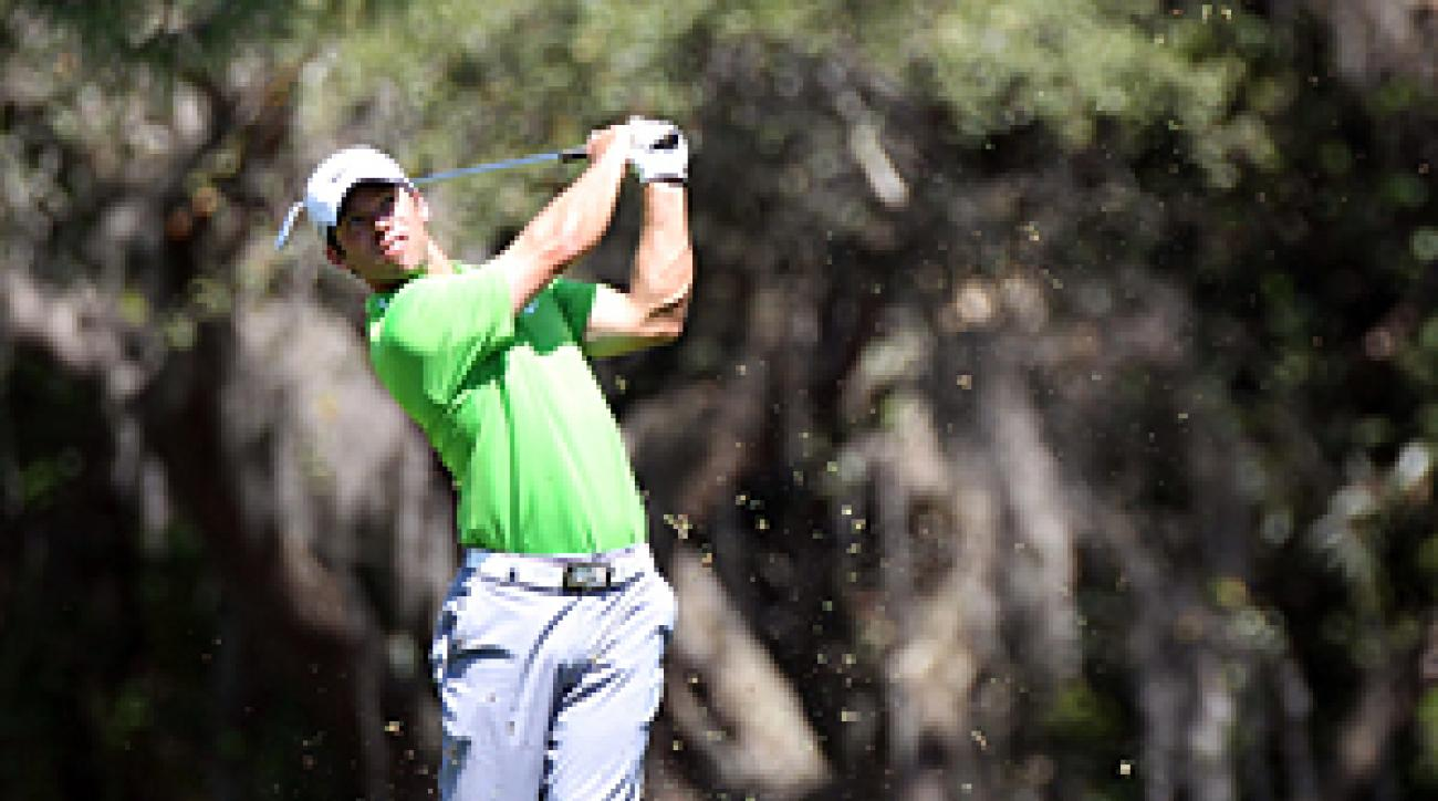 Paul Casey made seven birdies and no bogeys on Thursday.