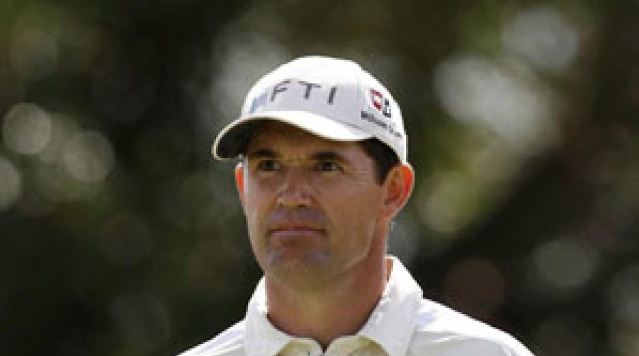 Padraig Harrington tied for third last week at Doral.