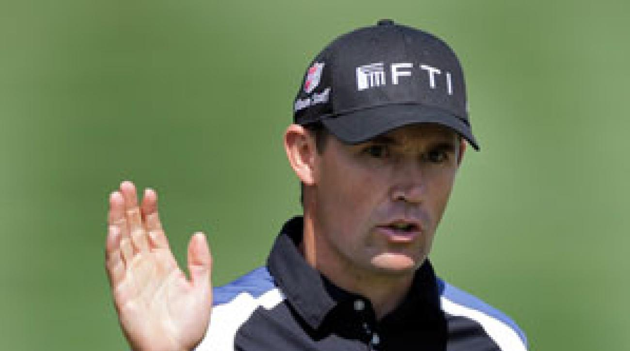 Padraig Harrington made seven birdies and one bogey on Friday.
